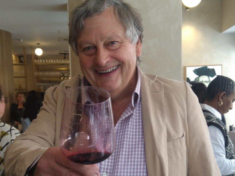 Happy Wine Drinker